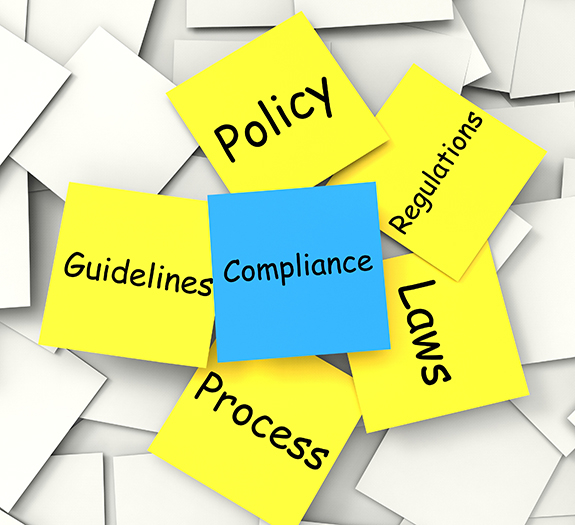 Publication database, compliance and monitoring services
